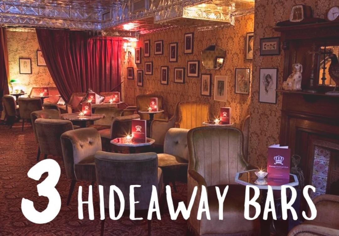 3 Hideaway Bars
