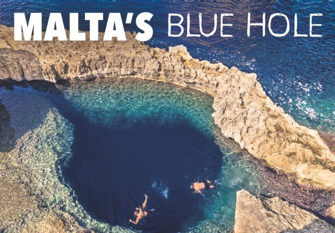 Malta's Blue Hole