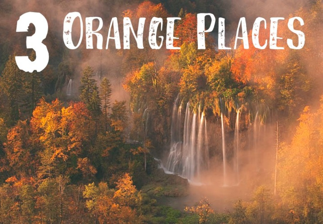 3 Orange Places