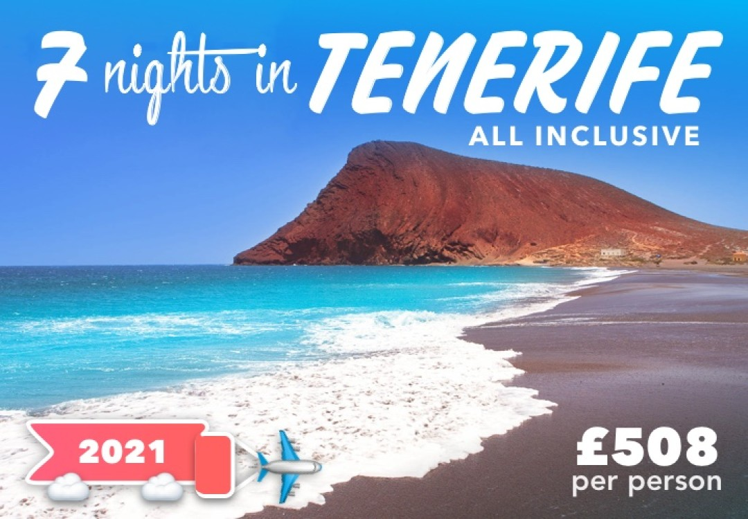 7 Nights All Inclusive Tenerife for £508pp
