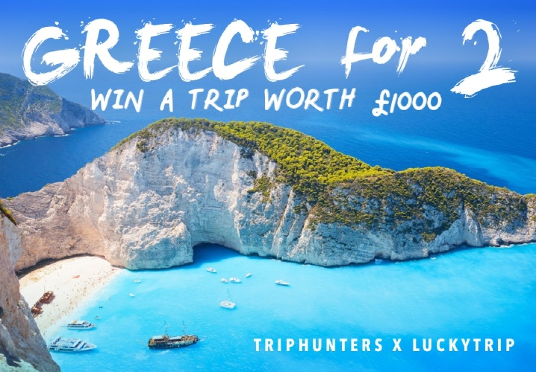 Win a Trip to Zakynthos for 2021