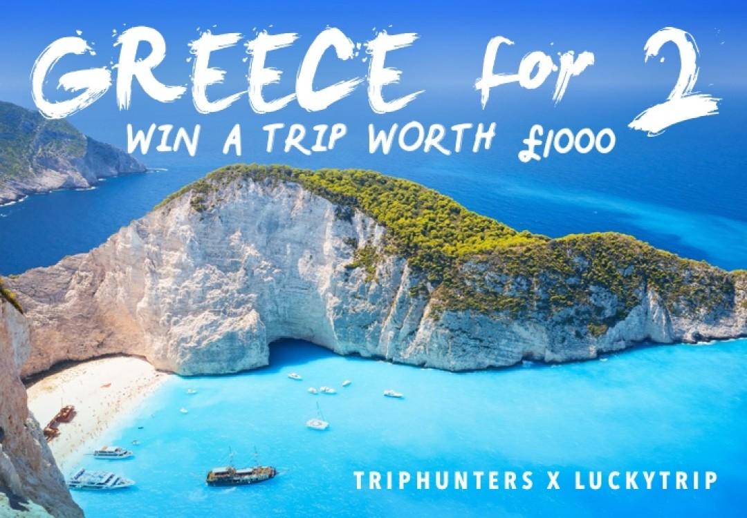 Win a Trip to Zakynthos for 2021