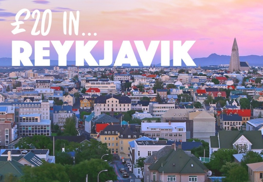 £20 in... Reykjavik