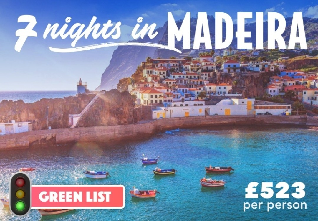 7 Nights Madeira for £523pp