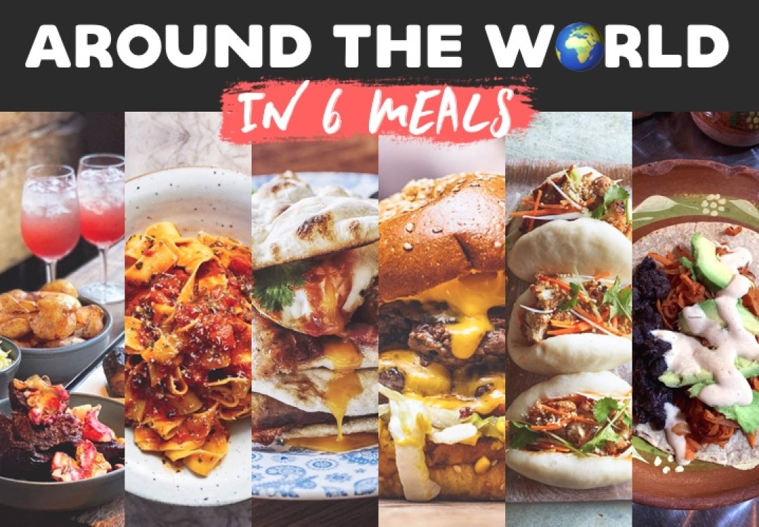 Around the World in 6 Meal Kits