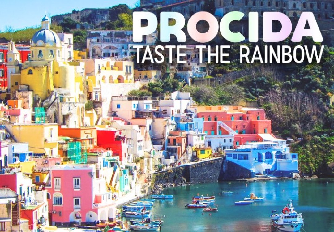 Procida: Taste the Rainbow