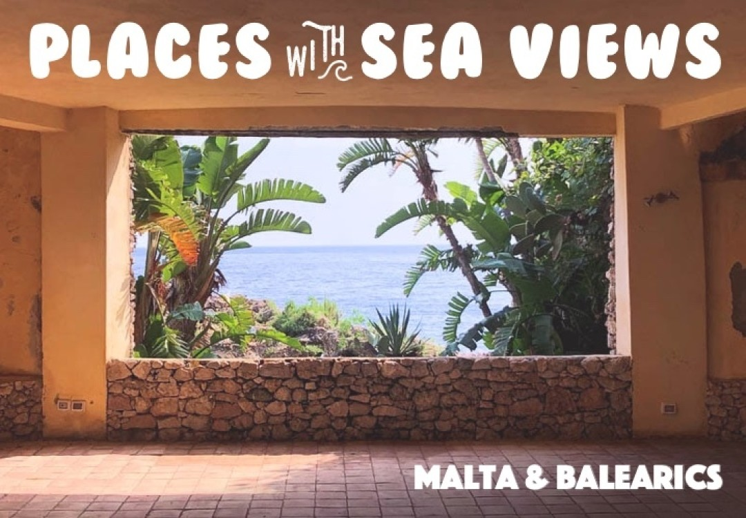 Places with Sea Views: Balearic Islands