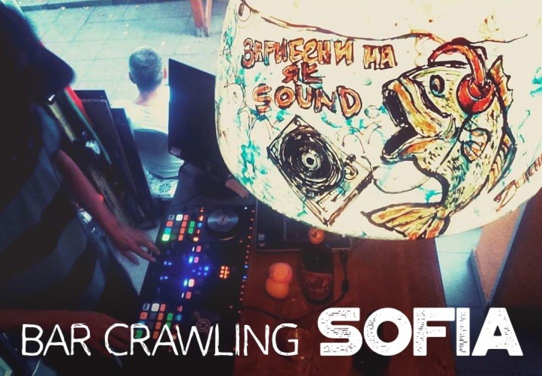 Bar Crawling Sofia