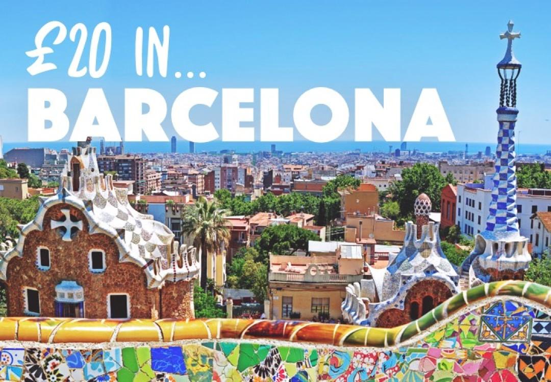 £20 in... Barcelona