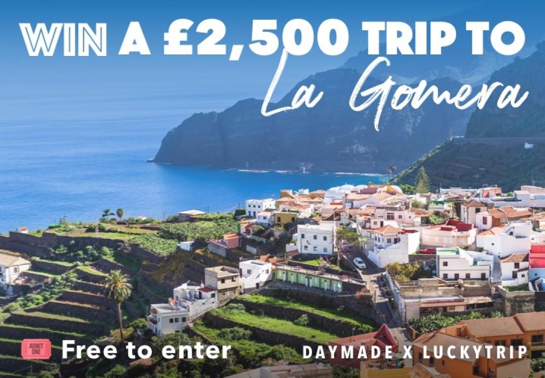 Win a £2.5K Trip to La Gomera
