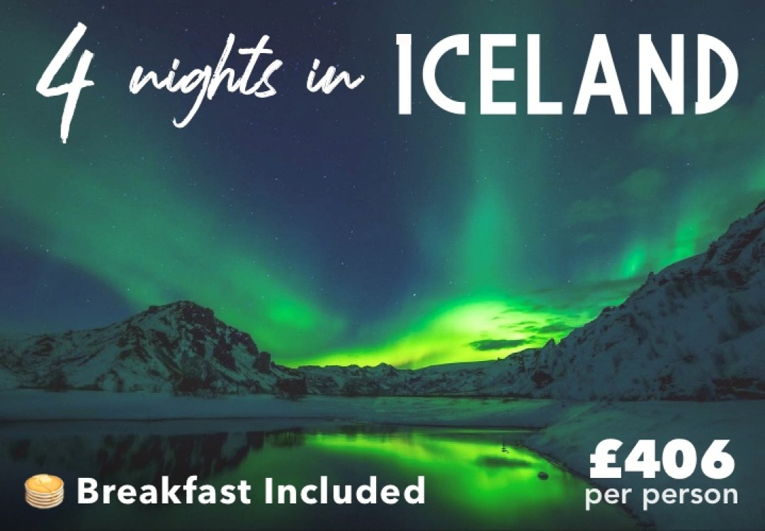 4 Nights Iceland for £406pp