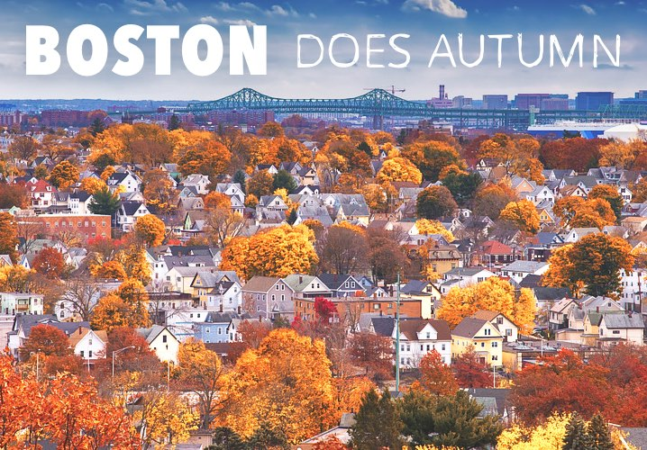 Boston does Autumn