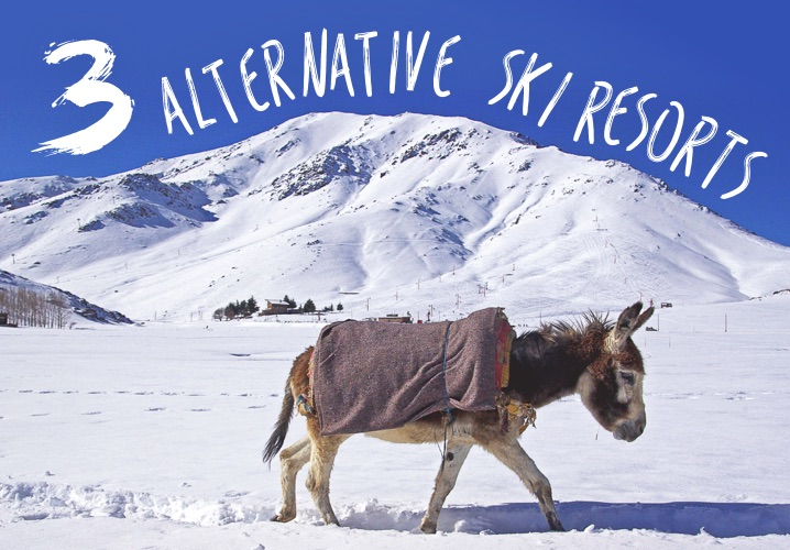 3 Alternative Ski Resorts
