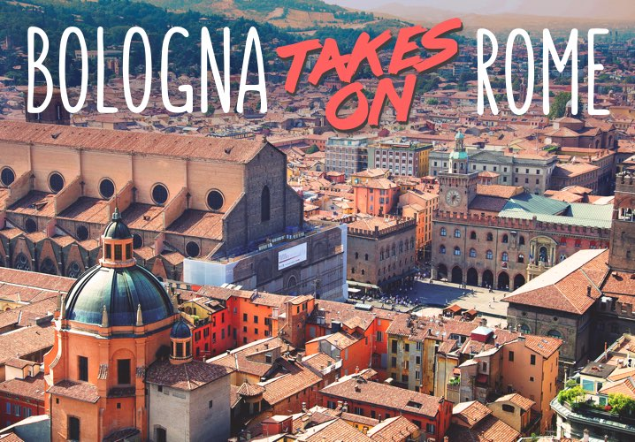 Bologna takes on Rome