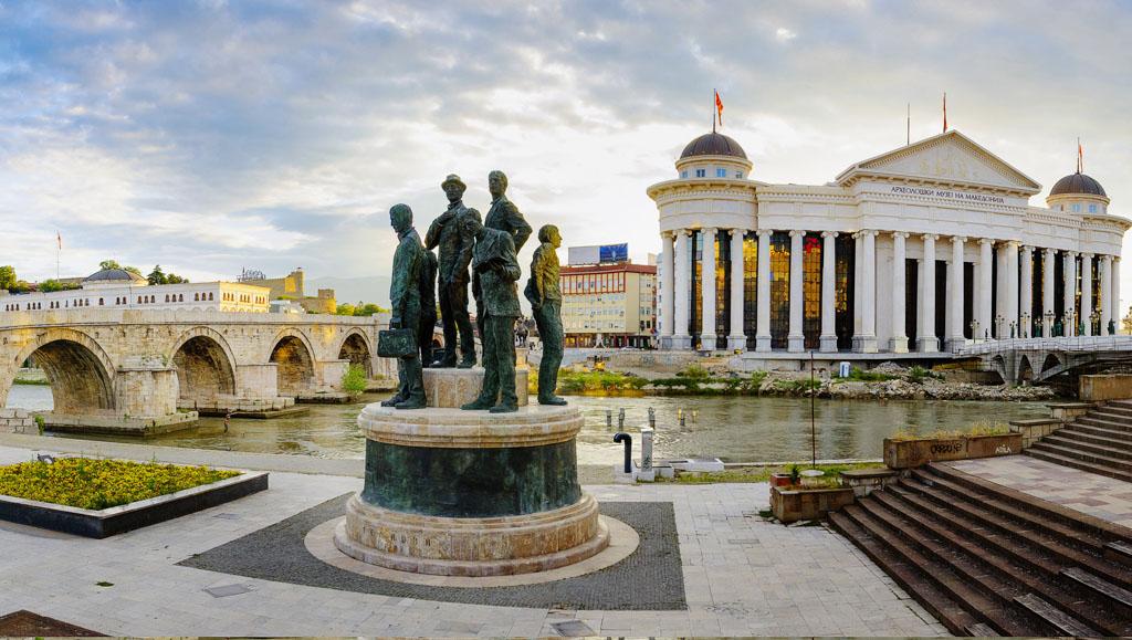 Hi I'm... Skopje