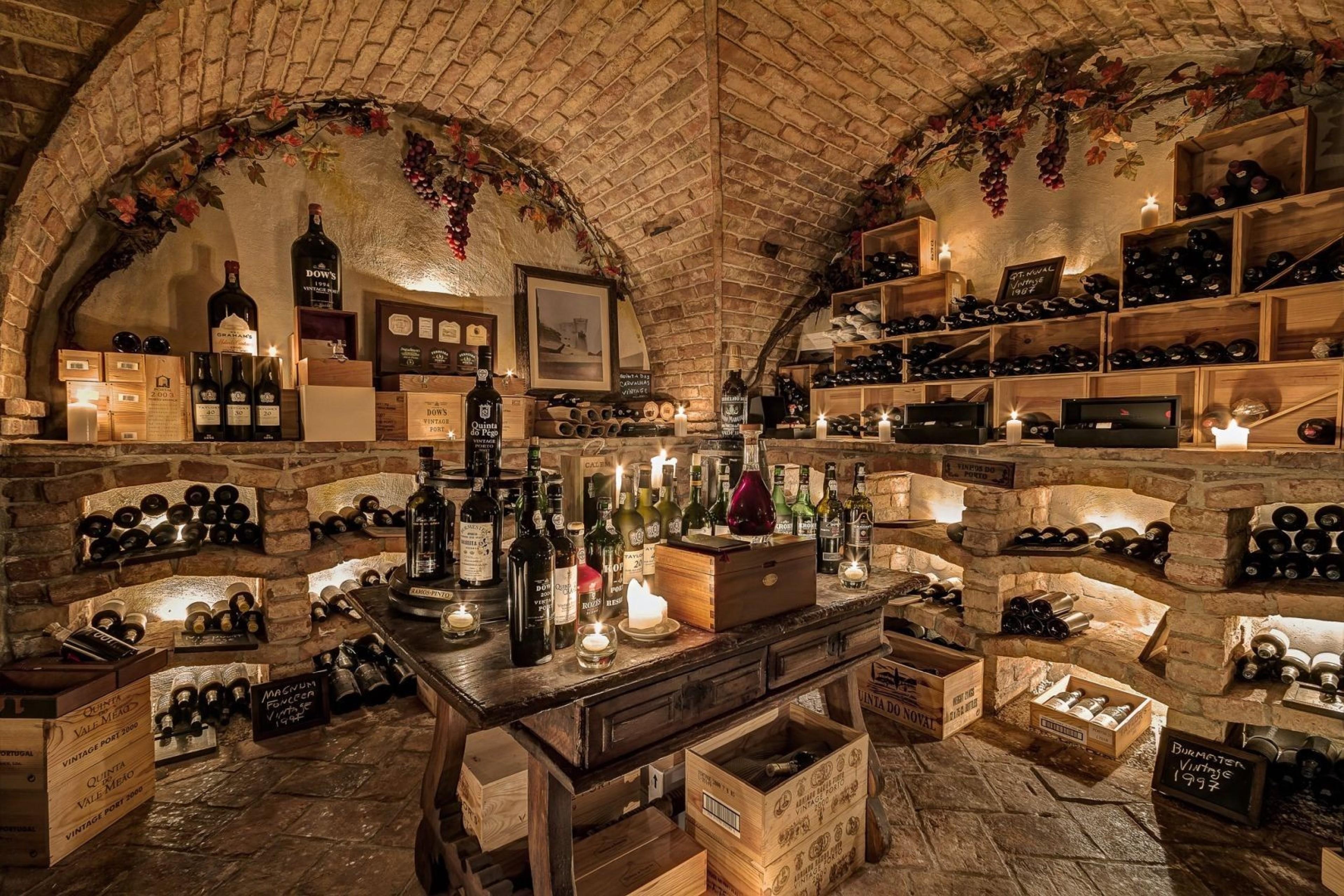 World's Largest Wine Cellars