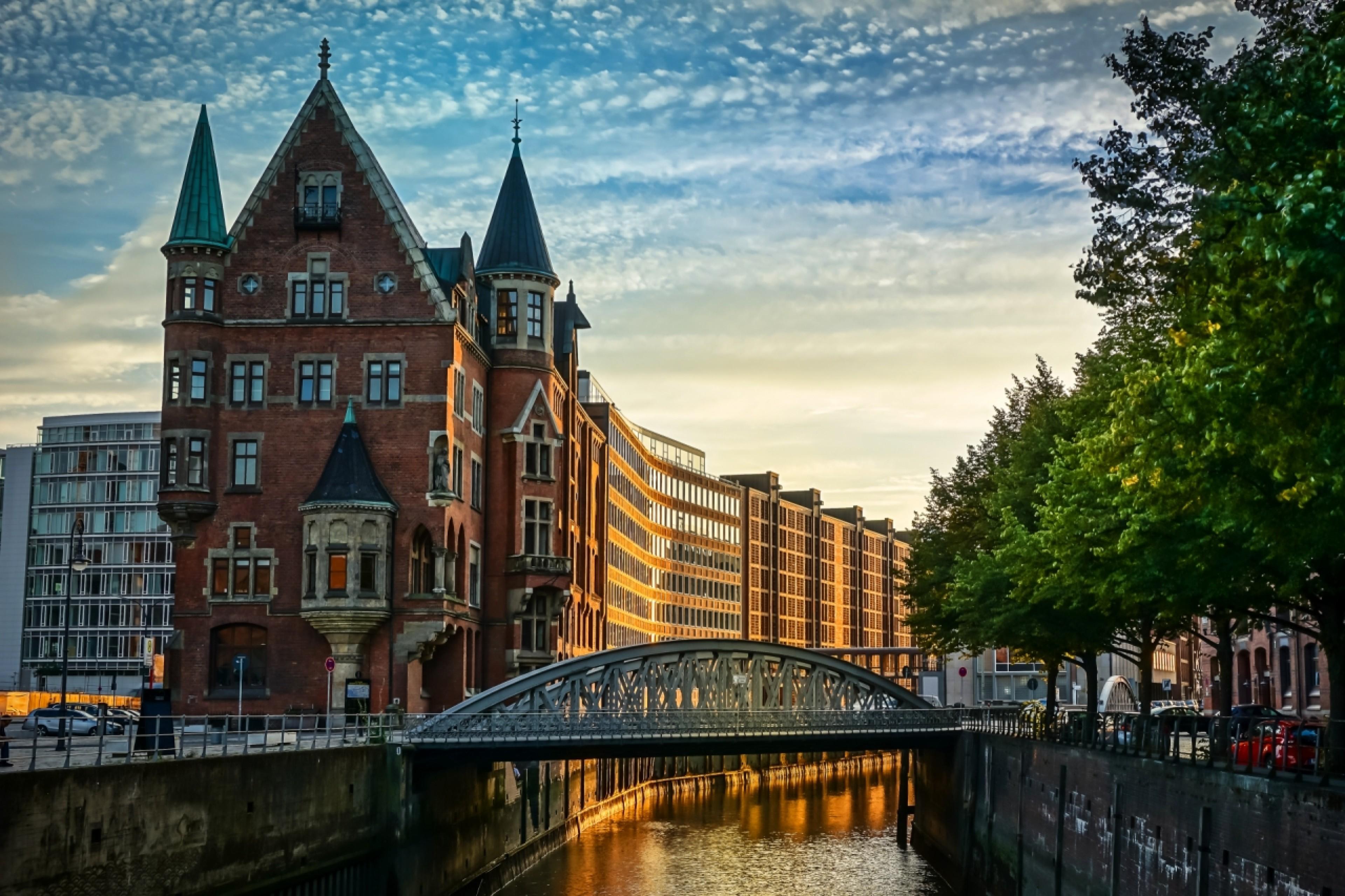 Hamburg's Warehouse District