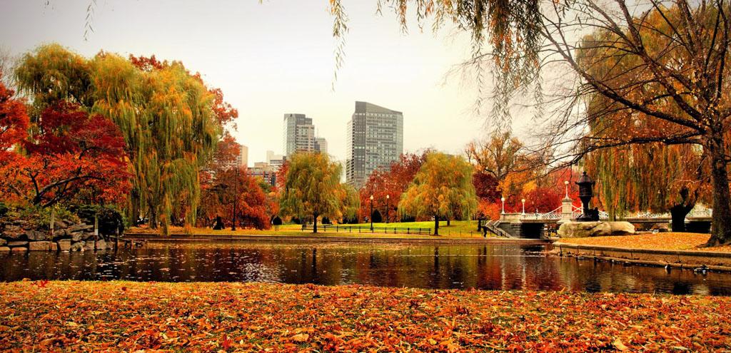 Boston does Autumn
