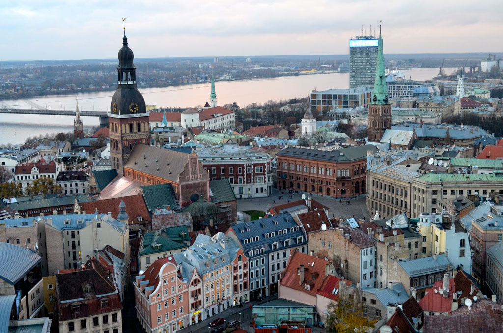 £20 in... Riga